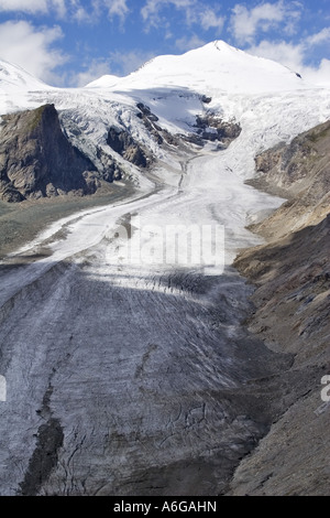 Pasterze, the longest glacier in Austria, Austria, Eastern Tyrol, NP Hohe Tauern - Stock Photo