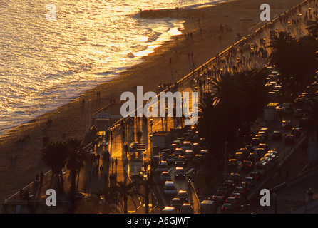 Nice Alpes-Maritimes 06 cote d'Azur French Riviera  France Europe - Stock Photo