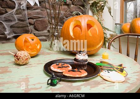Halloween treats - Stock Photo