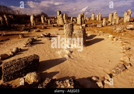 Stone Forest million 50 years ago Varna, Bulgaria - Stock Photo