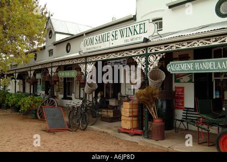 Oom Samie Se Winkel famous antiques and souvenir shop in Stellenbosch Nr Cape Town South Africa RSA - Stock Photo