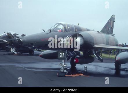 Dassault Mirage 5BR of 42 Smaldeel Belgium  GAV 2295-239 - Stock Photo