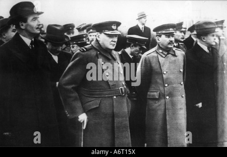 events, Second World War / WWII, conferences, Moscow Conference, 9.10.1944 - 20.10.1944, - Stock Photo