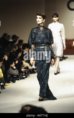 e0afaf926dd74 Chanel Paris Ready to Wear Autumn Winter Textured ruffled blue and ...