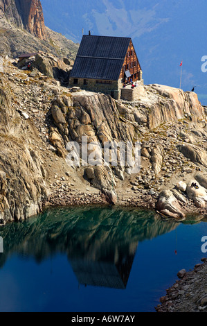 Refuge club alpin champex webcam