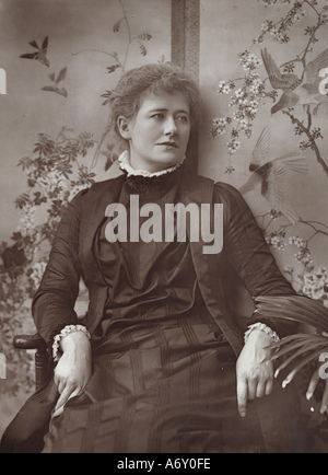 Ellen Terry. London, England, late 19th century. - Stock Photo