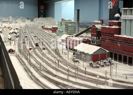Miniatur Wunderland, Hamburg - Stock Photo