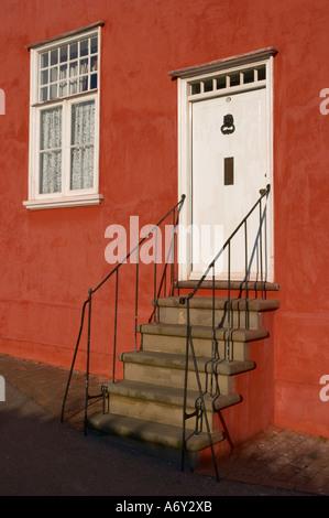 House in Lady Street Lavenham Suffolk England - Stock Photo