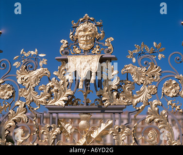Detail of the South Gate Hampton Court Greater London England United Kingdom Europe - Stock Photo