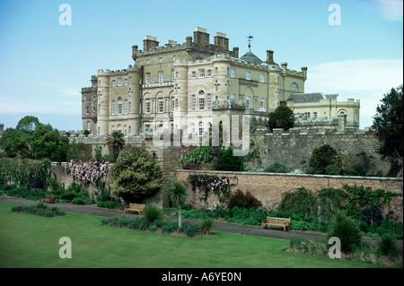 Culzean Castle near Ayr Ayrshire Scotland United Kingdom Europe - Stock Photo