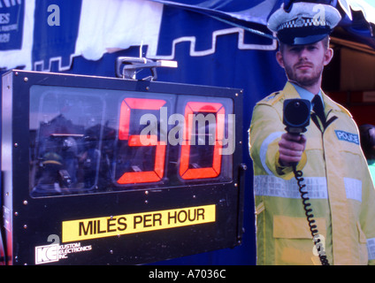 police exhibition - Stock Photo