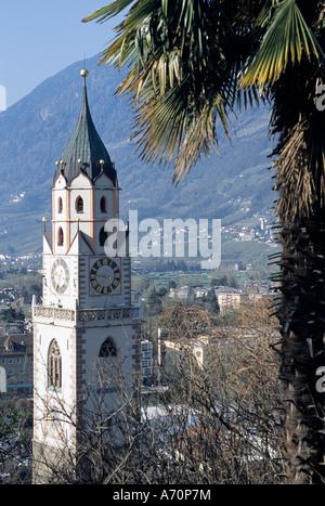 Meran Pfarrkirche /  parish church of Merano - Stock Photo