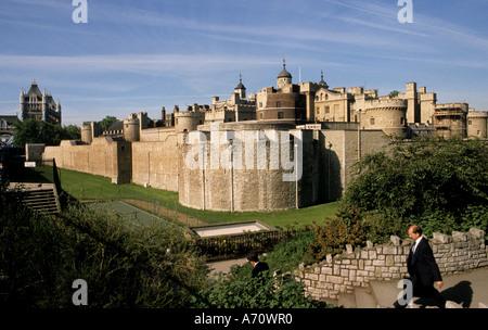 Tower Castle United kingdom London England Great Britain UK