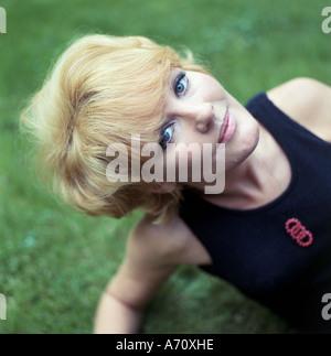 PETULA CLARK UK singer in 1965. Photo Tony Gale - Stock Photo
