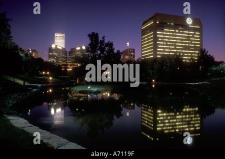 AJ0313, Nebraska, NE, Omaha - Stock Photo