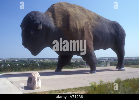AJ0465, North Dakota, ND, Jamestown - Stock Photo