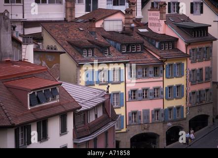 AJ1963, Europe, Switzerland, Vaud, Lausanne - Stock Photo