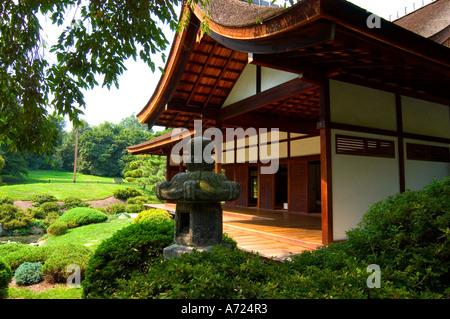 ... Japanese House And Garden In Fairmount Park In Philadelphia  Pennsylvania   Stock Photo