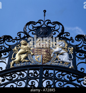 Coat of Arms from Great Britain - Stock Photo