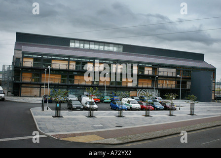 The Galeri Theatre Caernarfon North West Wales - Stock Photo