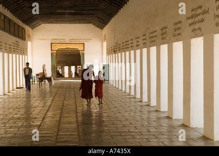 Shwezigon Pagoda Bagan Nyaung U Myanmar - Stock Photo