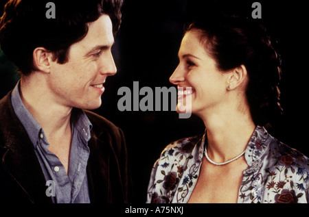 NOTTING HILL  - 1999 Polygram film with Hugh Grant and Julia Roberts - Stock Photo