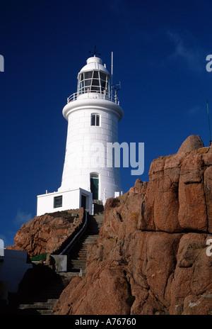La Corbiere Lighthouse Jersey Channel Islands