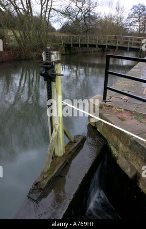 Worsbrough Mill canal basin - Stock Photo