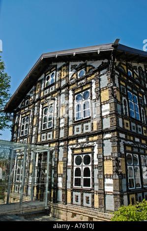 Museum Junkerhaus, Lemgo, North Rhine-Westphalia, Germany - Stock Photo
