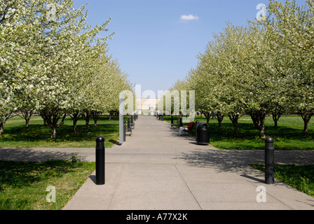 Tennessee Bicentennial Capitol Mall State Park Nashville Tennessee TN Tenn US USA United States of America American - Stock Photo