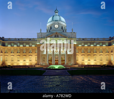 Government Buildings in Dublin, which houses the Office of the Taoiseach ( Prime Minister ) of Ireland. - Stock Photo