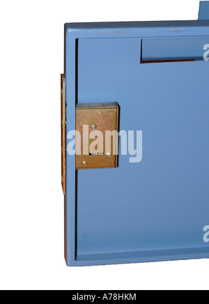 mailbox on white background - Stock Photo