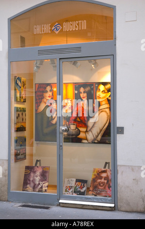 Galerie Augustin in central Vienna Austria EU - Stock Photo