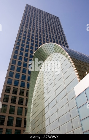 DOCKLANDS OFFICES, located in Bank Street. - Stock Photo
