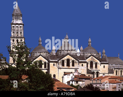 france aquitaine dordogne perigeux cathedral - Stock Photo