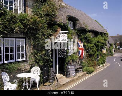 Tea room Godshill Isle of Wight England - Stock Photo