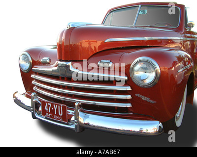 1947 Ford Super Deluxe 47YU - Stock Photo