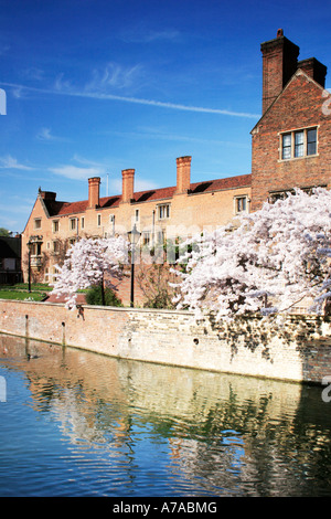 Magdalene College, Cambridge, England. - Stock Photo