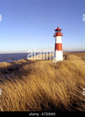 4228 GERMANY SCHLESWIG HOLSTEIN SYLT LIST - Stock Photo