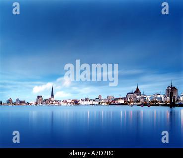 4019 Germany Mecklenburg Vorpommern city of ROSTOCK - Stock Photo