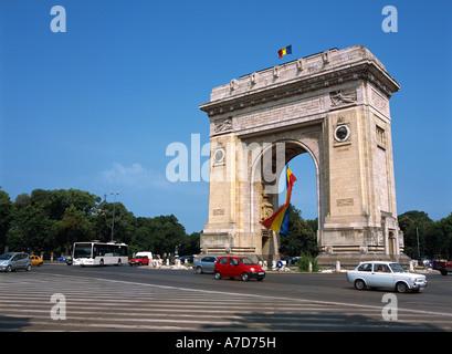Triumphal Arch, Arc De Triomphe - Stock Photo