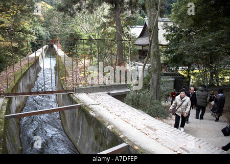 Viaduct in Nanzenji temple city of Kyoto Japan Asia Historic traditional building - Stock Photo
