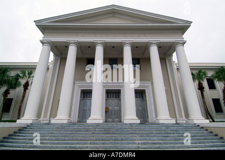 The State Supreme Court Building Tallahassee Florida - Stock Photo