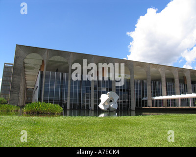 Brazilian Ministry of Foreign Affairs - Itamaraty - Brasilia-BR - Stock Photo