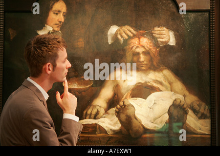 The Anatomy Lesson of Dr. Jan Deijman, 1656. Artist: Rembrandt van ...