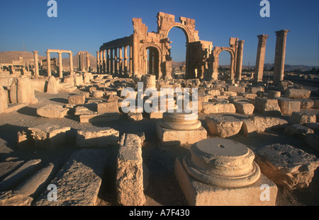 SYRIA Central Tadmur - Stock Photo