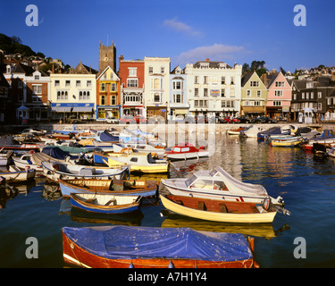 GB - DEVON: The Inner Harbour at Dartmouth - Stock Photo