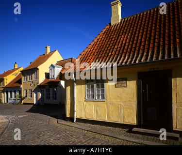 DK - FUNEN:  Hans Christian Andersen House in Odense - Stock Photo