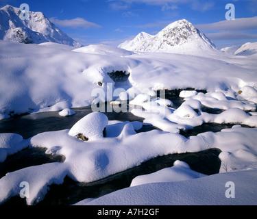 GB - SCOTLAND:  Winter in Glen Coe - Stock Photo