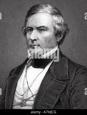 MILLARD FILLMORE  - 13th President of the USA (1800-1874) - Stock Photo